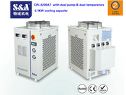 S&A chiller for high power fiber laser system of 1KW capacity